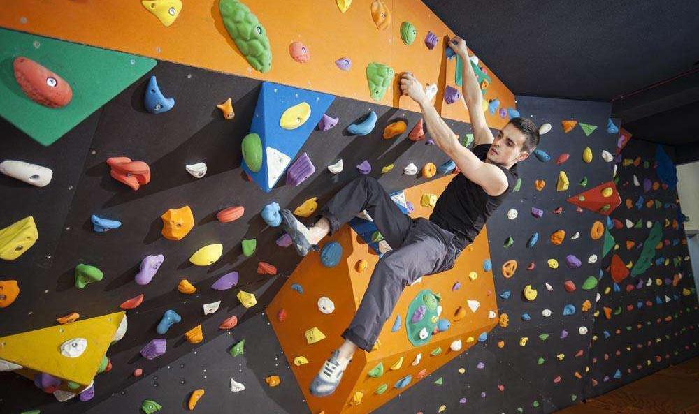 室内攀岩運動